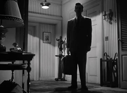 Day the Earth Stood Still Maj.Carpenter arrives at the rooming house