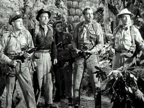 Lost Continent crew