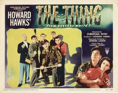 The Thing 1951 lobby card