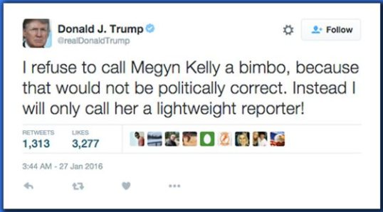 Trump Tweets Last 24 Hours