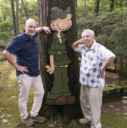 Mort Walker Army Veteran WWII