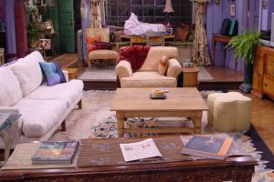 friends apartment backgrounds funny sets virtual living office monica awesome startit coffee film simpsons thelatch priestly miranda prada wears devil