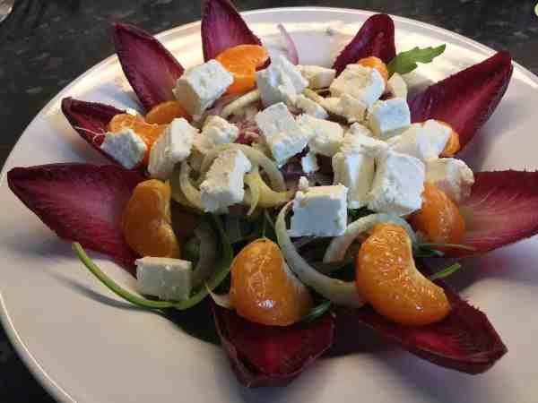 Clementine and Feta Salad - Kitchen Success