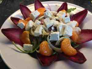 Clementine and Feta Salad