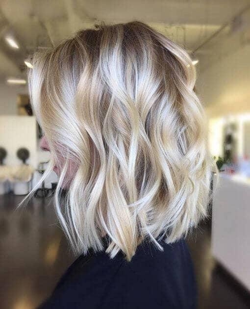 Iced Gold Shoulder Curls