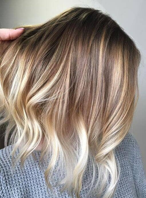 Amber Waves with Platinum Tips