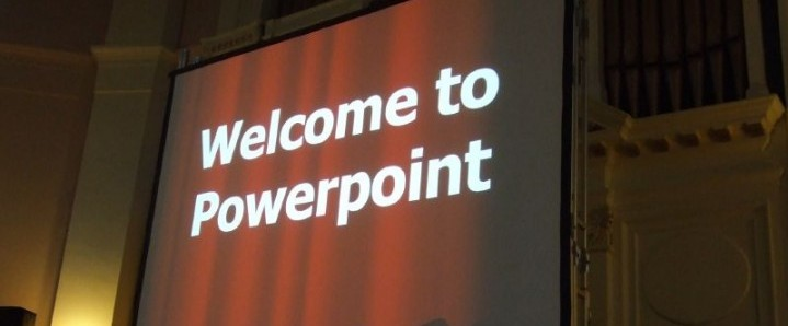 Your PowerPoint slides represent nothing but risk for your next presentation!