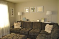 Get Rid of Excess and Organize Your Home {The Living Room}