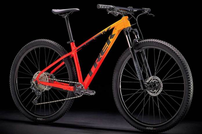 Trek's Marlin is the first model to be shipped in more environmentally packaging.