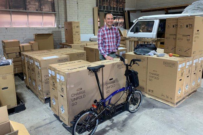 Martin Tse at Brompton Warehouse