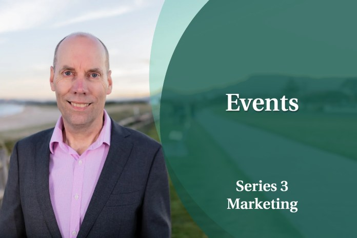 Business Coaching: Series Three - Events