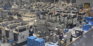 Shimano Shimonoseki Factory floor