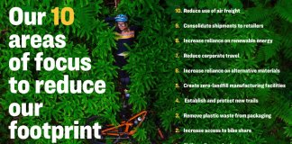 Trek - 10 Areas to focus to reduce our footprint