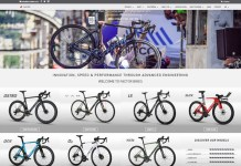 Factor Bikes website home page