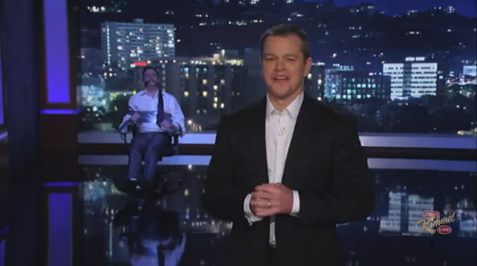 Matt Damon on Jimmy Kimmel Live