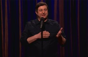 Eugene Mirman on Conan