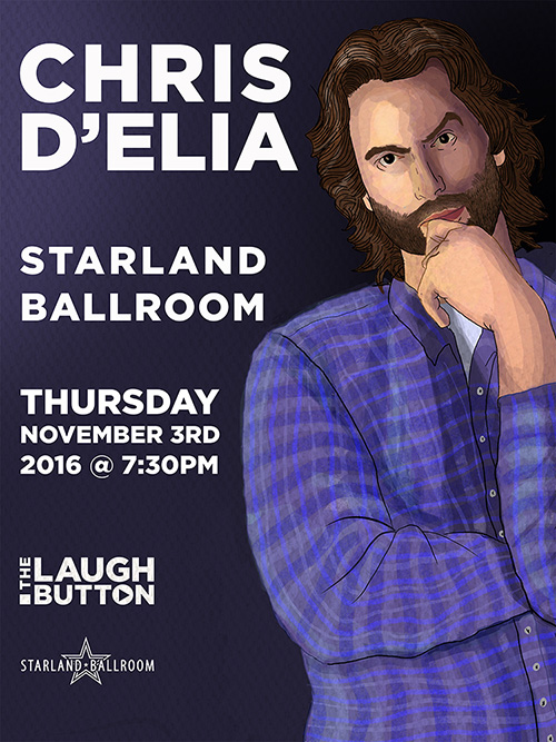 Chris D'Elia Starland Poster