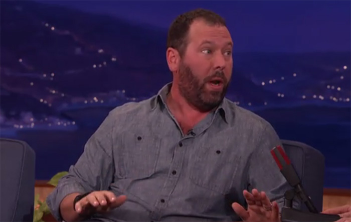 "Bert Kreischer told his Russian Mafia story on ""Conan"""