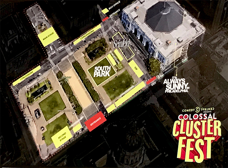 Clusterfest Layout
