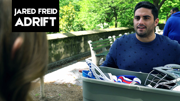 "Jared Freid learns how important his phone is in episode #1 of ""Adrift"""