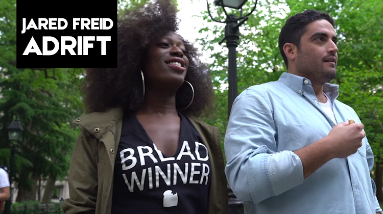 "There's a silver lining in the roommate search in Ep#5 of Jared Freid's ""Adrift"""