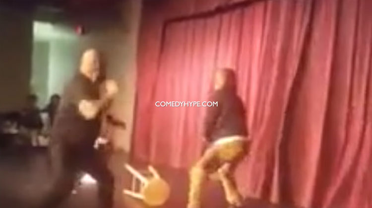 Comic Steve Brown attacked on stage at the Comedy House in South Carolina