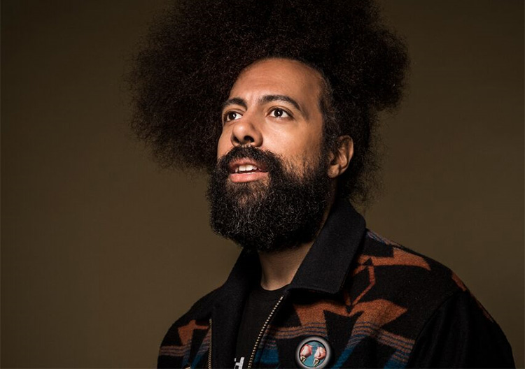 The art of Reggie Watts