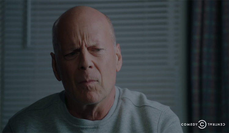 Watch a teaser clip for the Comedy Central Roast of Bruce Willis