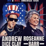 Roseanne and Andrew Dice Clay are going on tour together