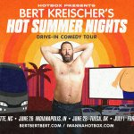 Bert Kreischer announces drive-in comedy tour