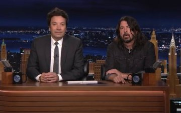 Dave Grohl - Tonight Show