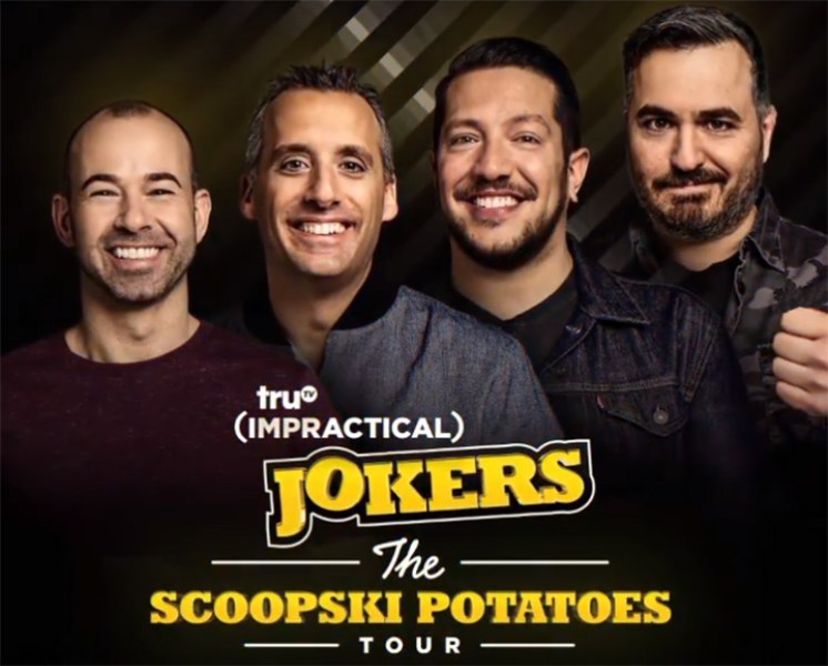 Impractical Jokers - Scoopski Potatoes Tour