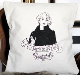 Meryl Streep Pillow - Etsy, $25