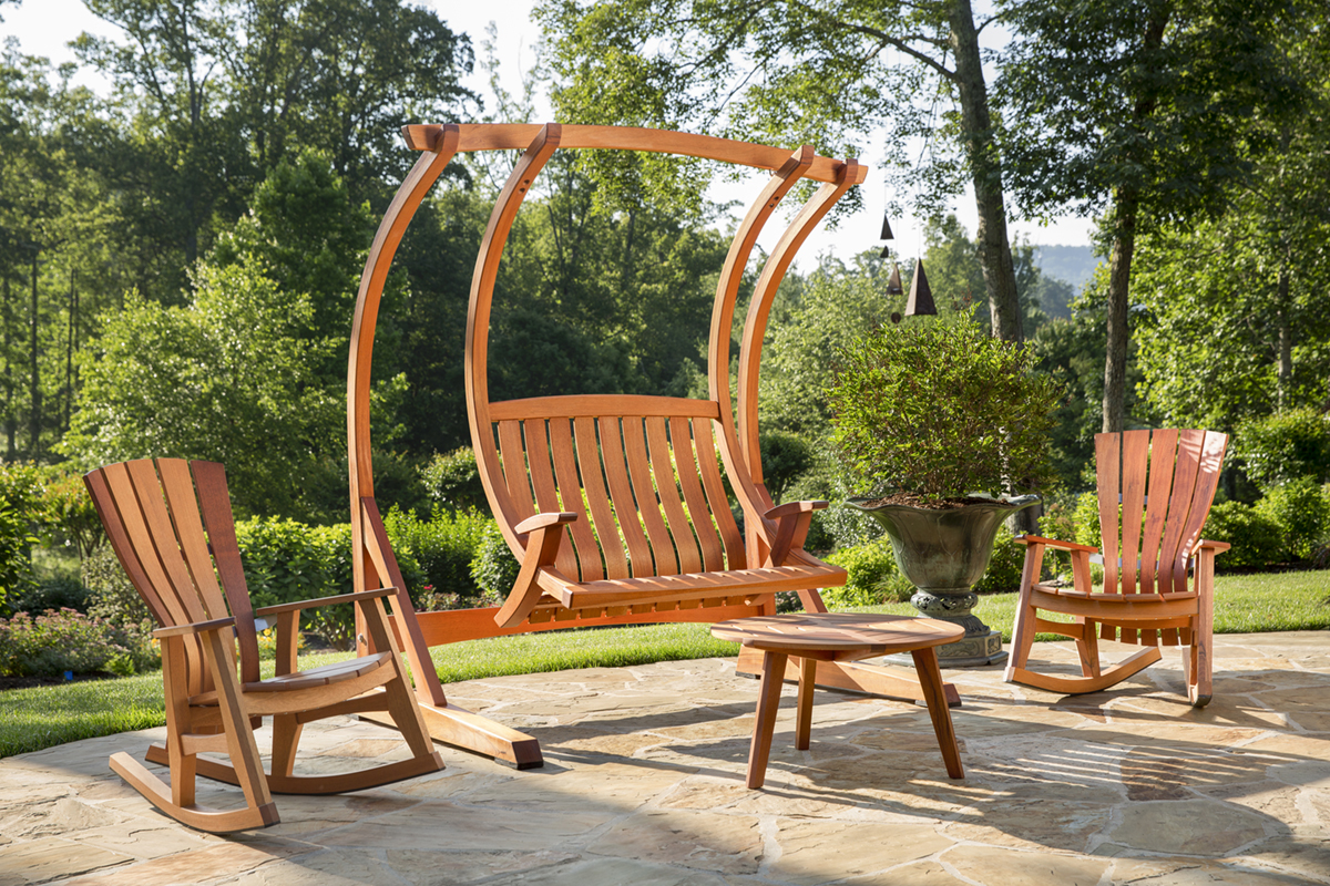 swing chair local covers large products brian boggs chairmakers the laurel of