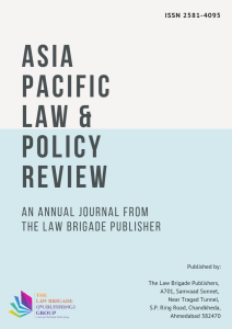 Asia Pacific Law & Policy Review