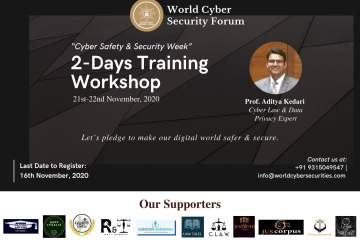 World Cyber Security Forum (WCSF) - The Law Communicants