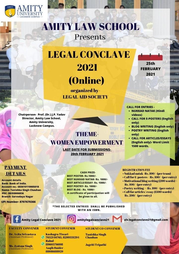 Amity University - The Law Communicants