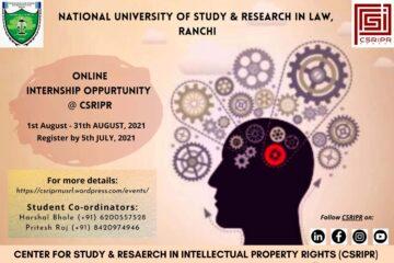 Internship - The Law Communicants