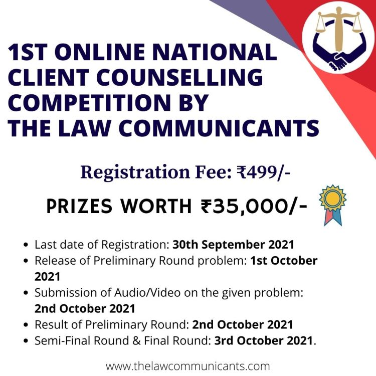 Event - The Law Communicants