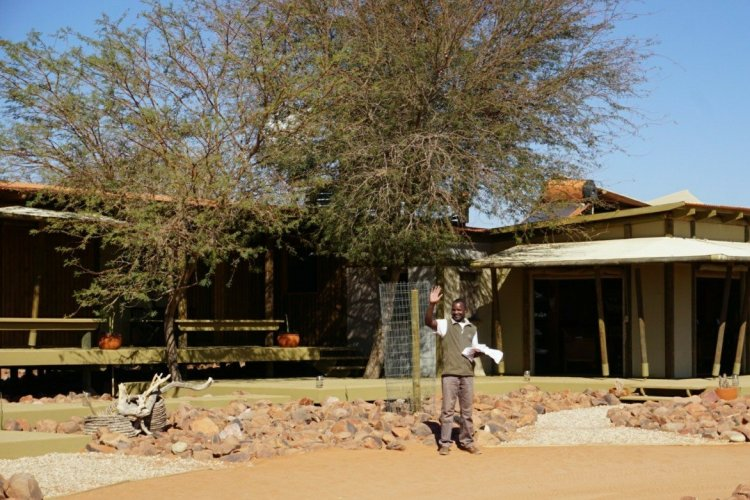 A warm welcome to Wolwedans Private Camp, Namibia.