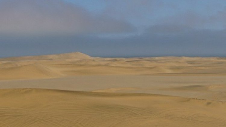 Dorob National Park sand dunes just outside of Swakopmund