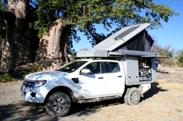 Ford Ranger Bushcamper double cab Group K