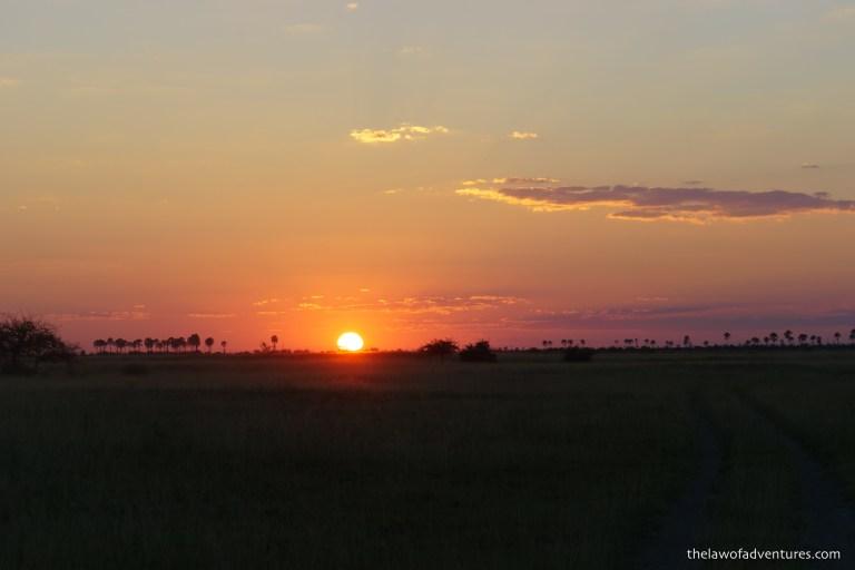 Makgadikgadi Pans Sunset