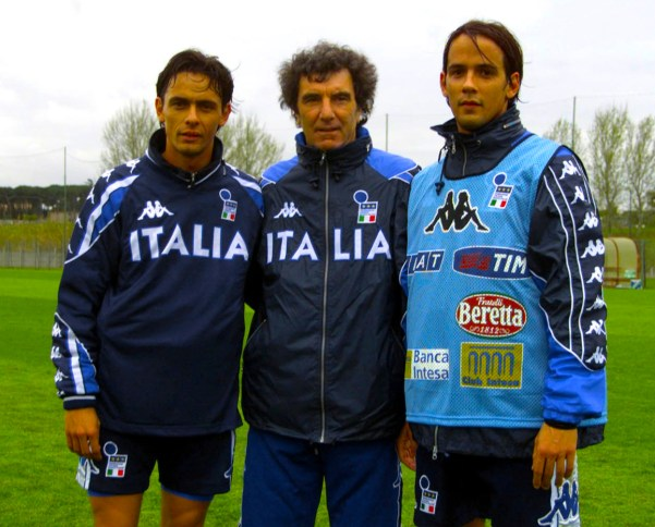 Simone Inzaghi and his brother Filippo Inzaghi, Source- Official S.S.Lazio