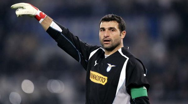 Angelo Peruzzi playing for Lazio, Source: CITTACELESTE