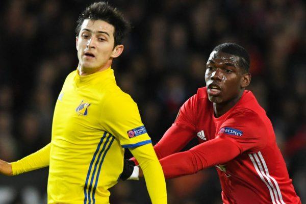 Sardar Azmoun Lazio - Paul Pogba Manchester United