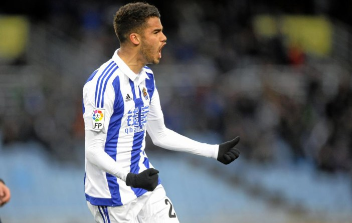 Deigo Reyes on loan at Spanish Side Real-Socieded, Source: marca.com