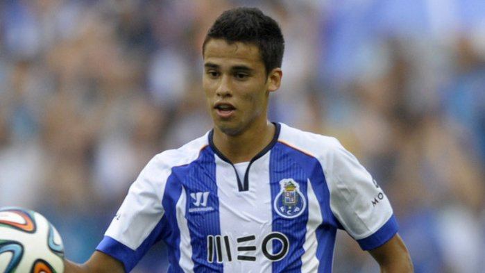 Diego Reyes Playing for Porto B, Source: SkySports