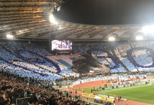 Lazio Curva Nord for Lazio vs Roma - Source When Sunday Comes