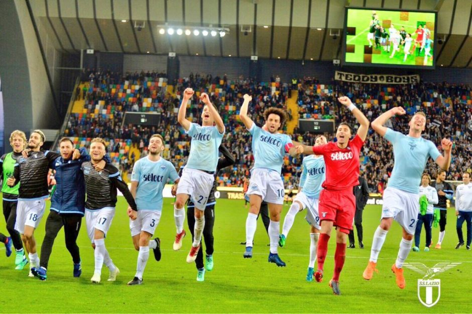 Lazio Champions League Race